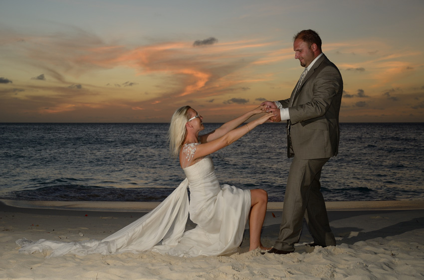Stunning Pictures From Aruba Weddings